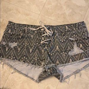 Billabong Tribal Patterned Shorts